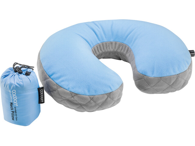 Cocoon Air Core Neck Pillow Ultralight light-blue/grey